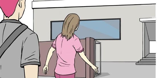 恶搞漫画:有钱人家养出来的懒汉