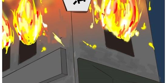 恶搞漫画:火灾中保持危险的救火队员