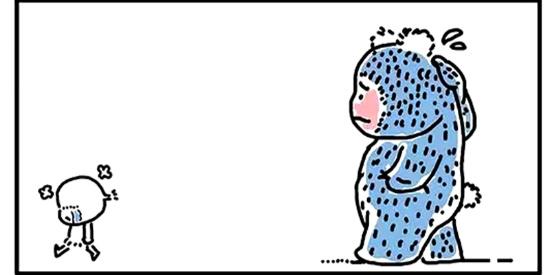搞笑漫画:爱情就这么的简单