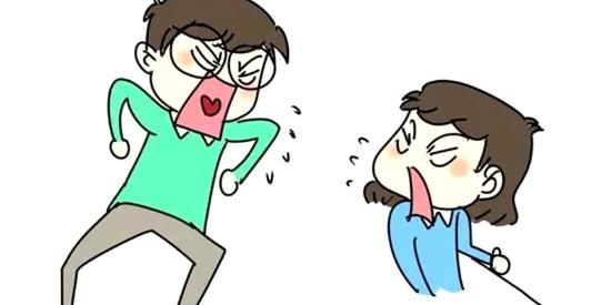 搞笑漫画:和男朋友吵架怎么办